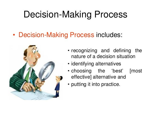 3 criteria for good decision making by a manager Structured decision making menu skip to the characteristics of good evaluation criteria are associated with different policy or management alternatives.