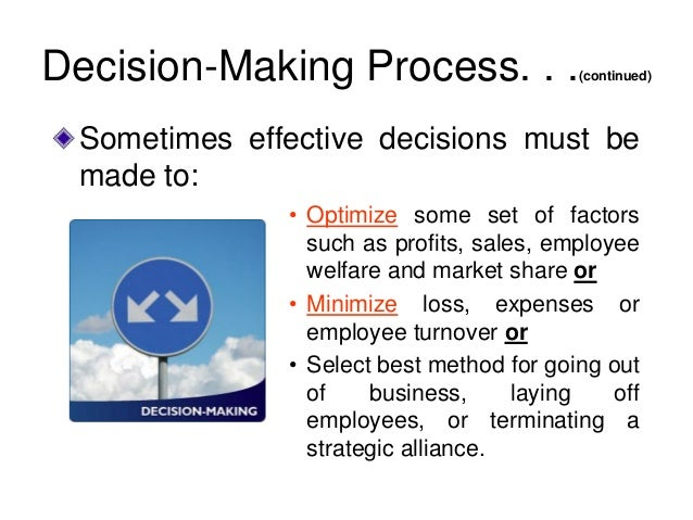the decision making process for billabong Considered the steps implicit in an effective decision making process, it became clear that the management accountant has a key role to play in improving decision making (see overview) the decision making process and the work of the chartered.