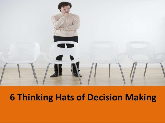 6 Thinking Hats of Decision Making