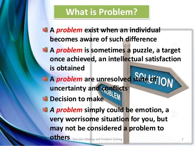 compare and contrast problem solving and decision making with critical thinking