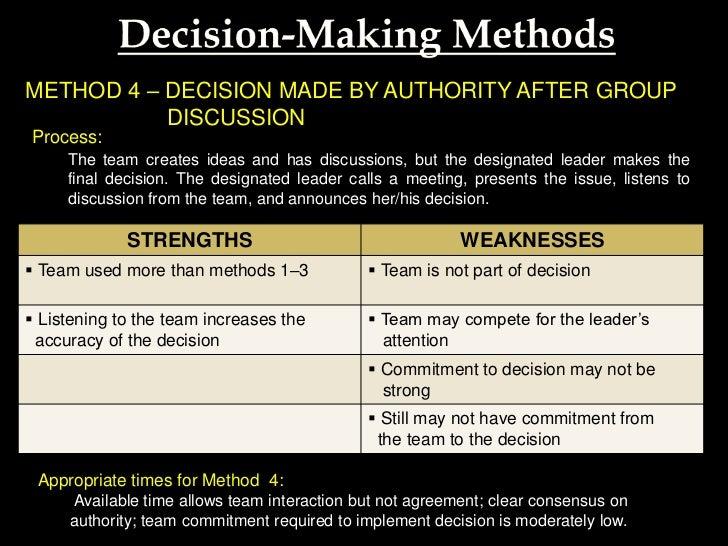 Technology - Majority Decision Maker?