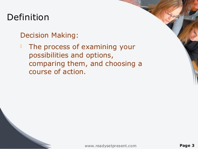Making definition