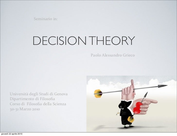 """4'8-)""""+-#%-)C                              DECISION THEORY                                             !""""#$#%&$'(("""")*+#%,+..."""