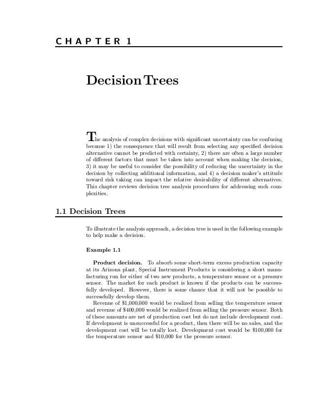 Decision treeprimer 1