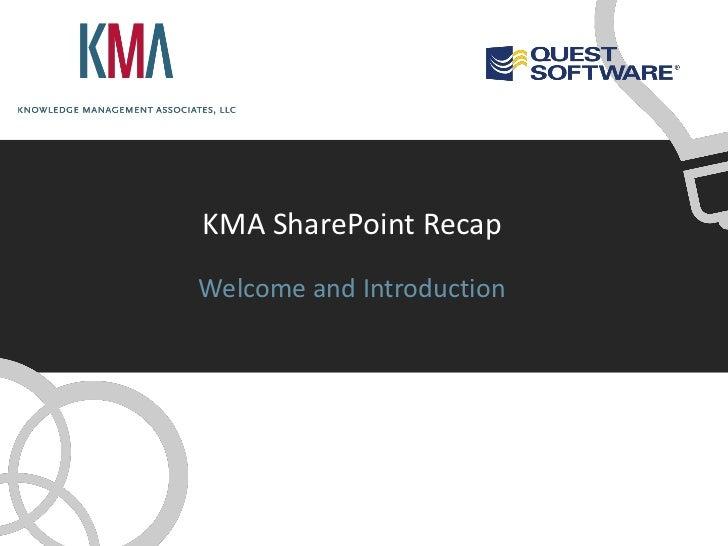 SharePoint Conference Recap - BI
