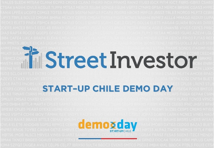 START–UP CHILE DEMO DAY