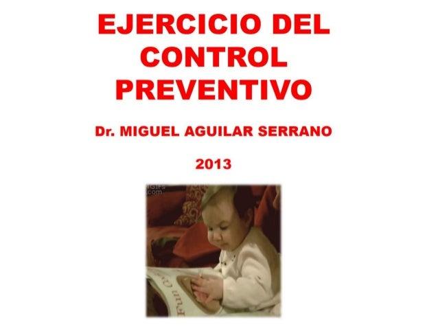 Declaración de Riesgos 08.nov.2013 Dr. Miguel Aguilar Serrano