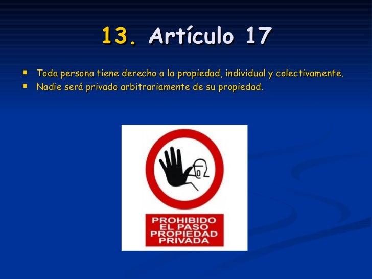 Los Primeros 30 Articulos De Los Derechos Humanos