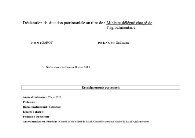 Declaration patrimoine-garot