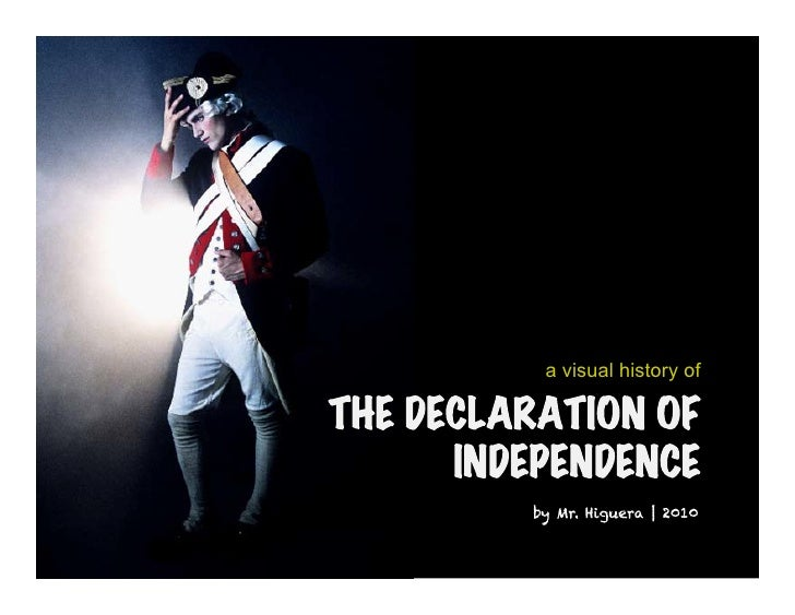 Declaration of independence 8.1.2