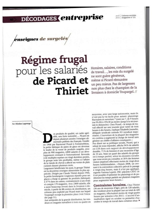 "erntre,pûse :v,'',i i Liaisons sociales  .rr- . magazlne n"" 15I  ,  ,  I  I  I  Régime frug+  Dr o ur le s s alarié s T:îf..."