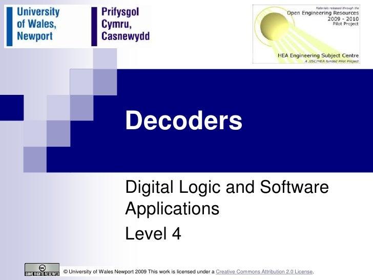 Decoders updated