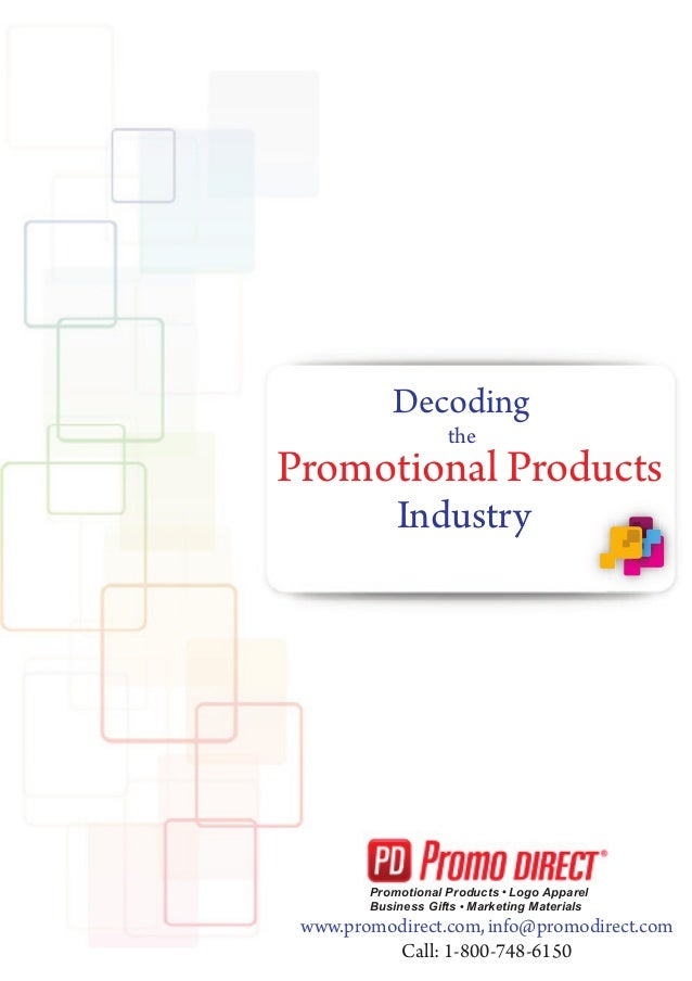 Decoding the  Promotional Products Industry  Promotional Products Logo Apparel Business Gifts Marketing Materials  www.pro...
