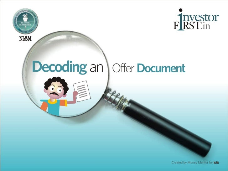 Decoding a Mutual Fund Offer Document