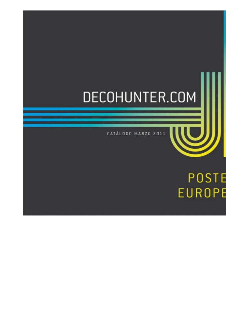 Decohunter posters