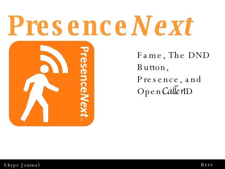 Deconstructing Presence