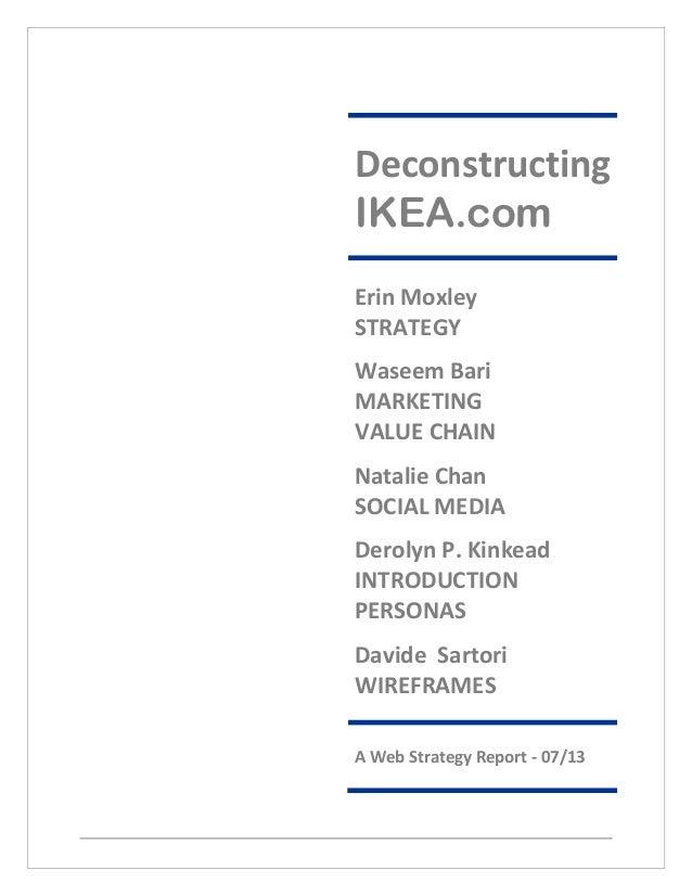 Deconstructing Ikea by Waseem Bari