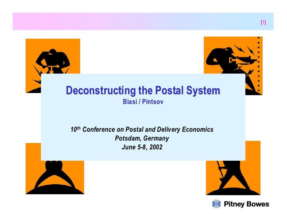 [1]                                    Deconstructing the Postal System                                                   ...