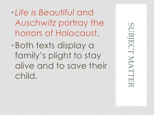 life is beautiful essay prompt