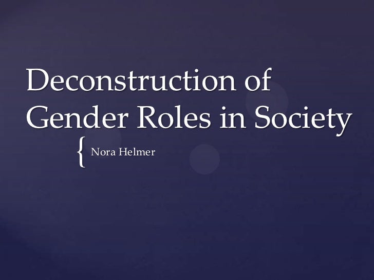 gender roles in society essay example But how would you describe the ideal which the modern society is striving to global gender equality  gender roles thesis or essay on such topic could bring out.