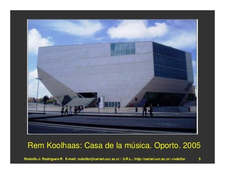 El deconstructivismo en arquitectura - Casa de la musica oporto ...