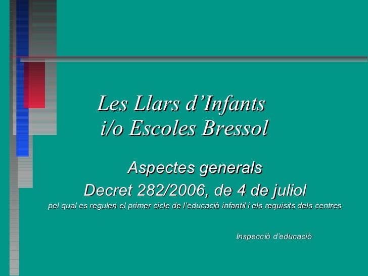 Decret Llars Infants