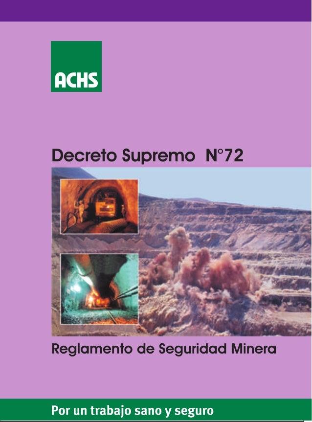 Decreto supremo-n-72