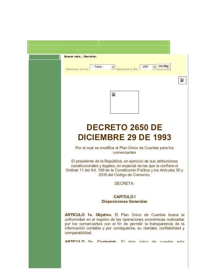 Buscar más... Decretos:                      - Todos -                          2007   Ver Mas Seleccione el mes:         ...