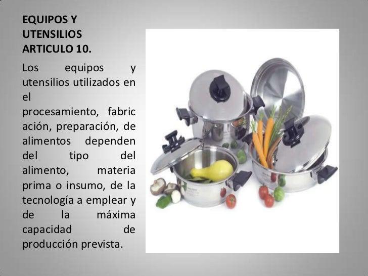 cocina On maquinaria y utensilios para la produccion culinaria