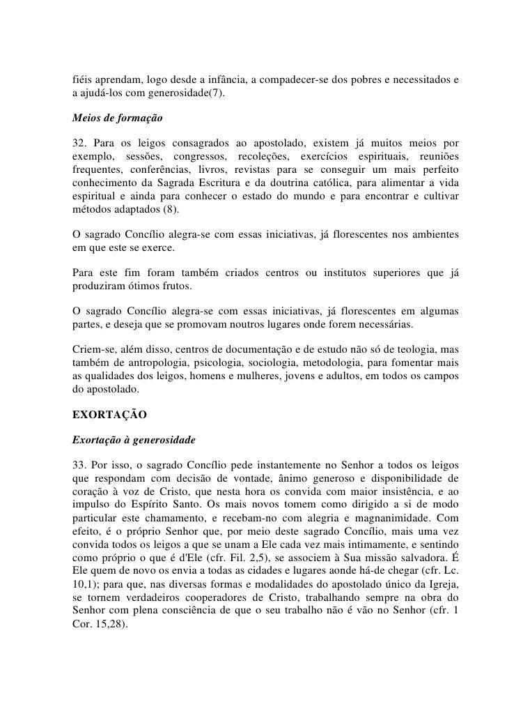 mislekturas: Decreto Apostolicam Actuositatem, Nº 2