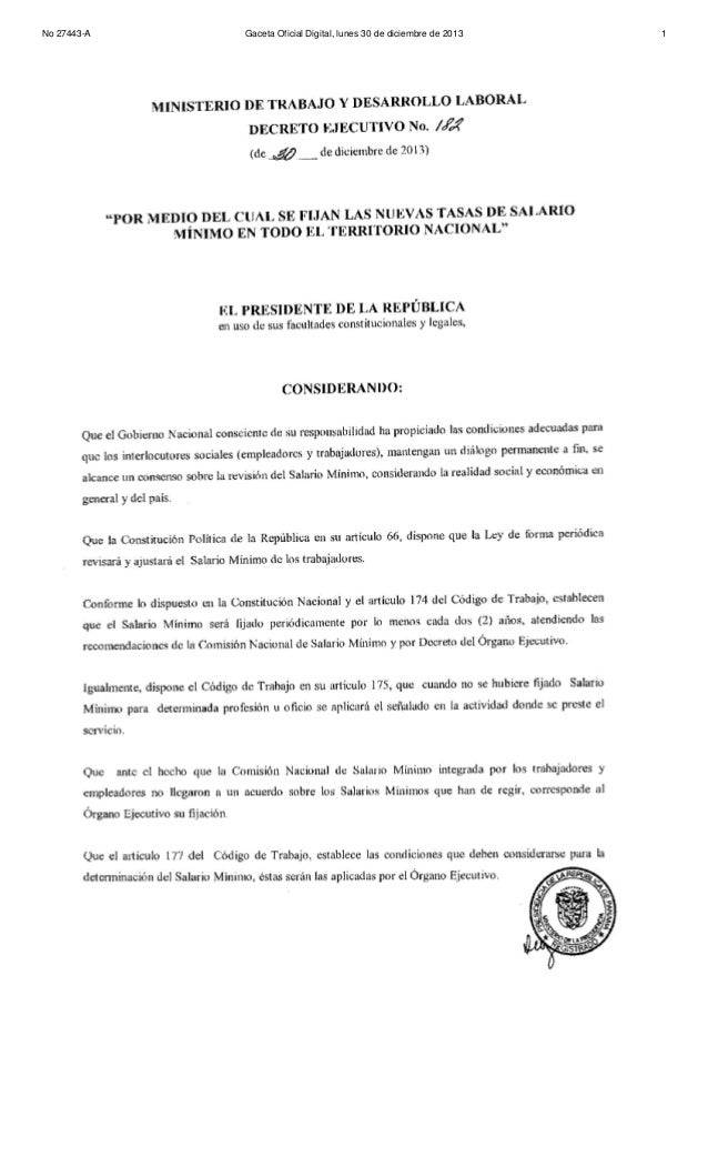 No 27443-A  Gaceta Oficial Digital, lunes 30 de diciembre de 2013  1