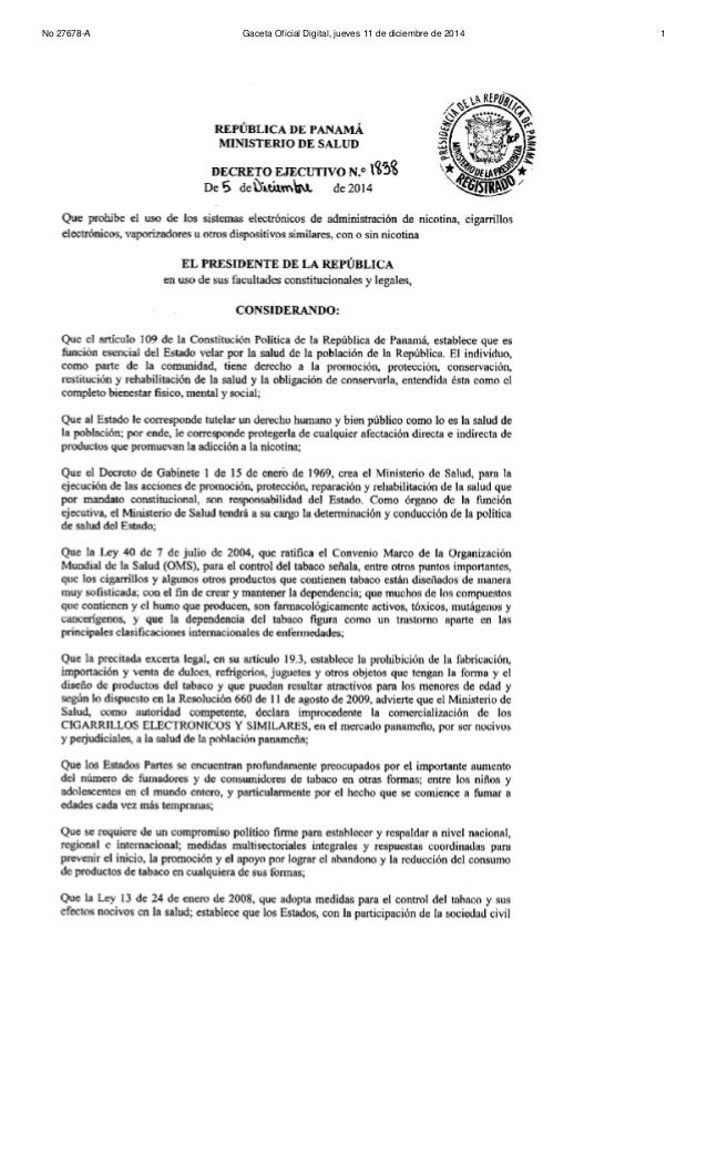 No 27678-A Gaceta Oficial Digital, jueves 11 de diciembre de 2014 1