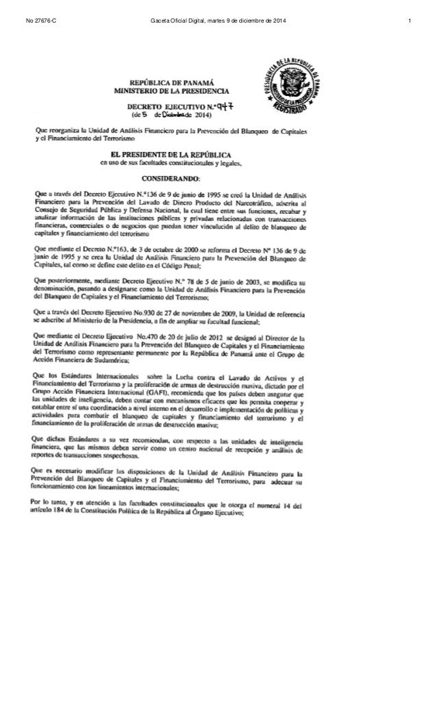 No 27676-C Gaceta Oficial Digital, martes 9 de diciembre de 2014 1