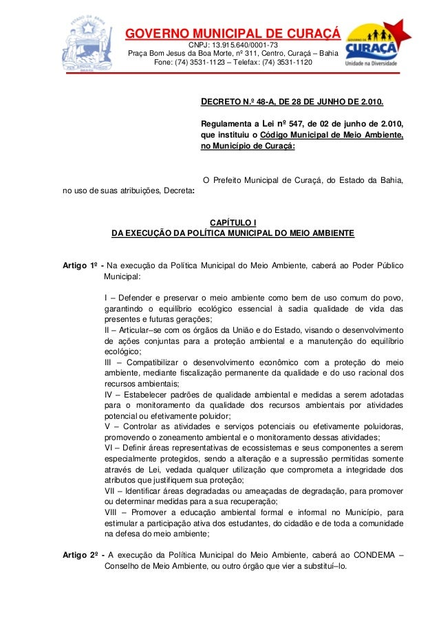 Decreto N.º 48-A, de 28 de Junho de 2010