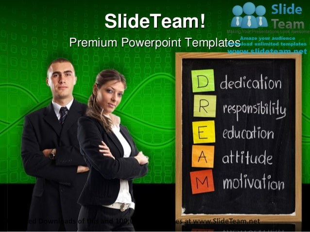 Dedication responsibility business power point templates themes and backgrounds ppt themes