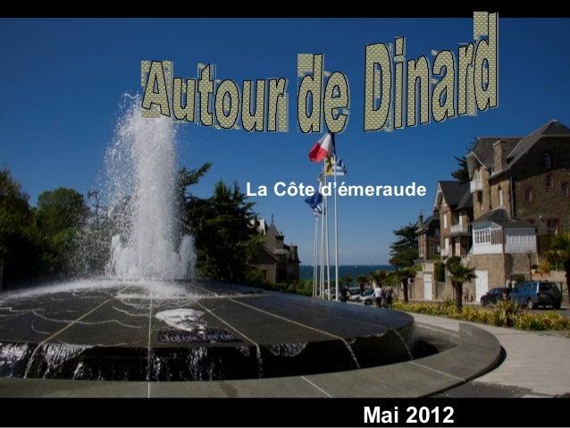 Mai 2012 La Côte d'émeraude