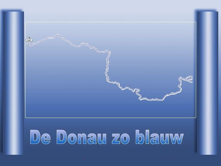 De Donau zo blauw