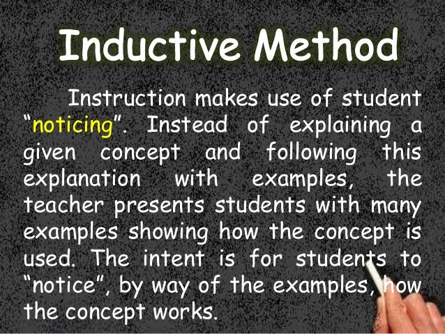 Inductive Essay