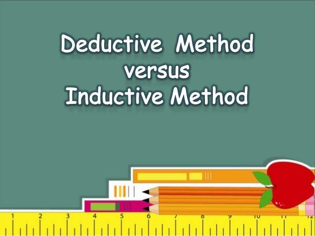 Deductive research methods