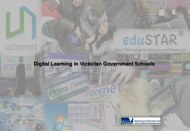 Digital Learning in Victorian Government Schools