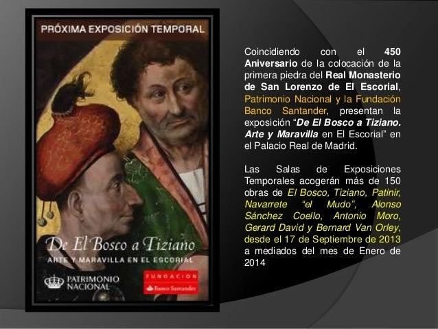 De El Bosco a Tiziano