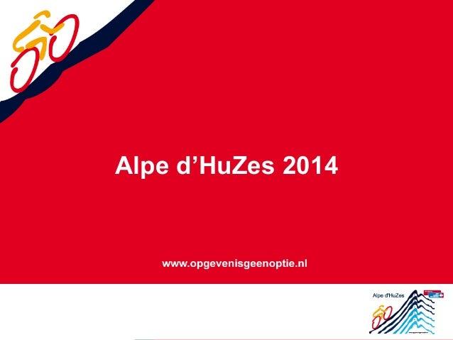Alpe d'HuZes 2014