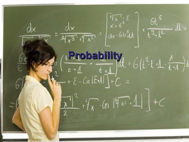 ProbabilityProbability ProbabilityProbability