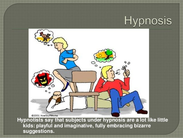 Sources for Research Paper on Hypnosis?