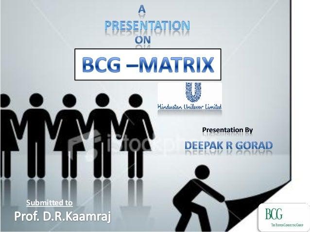 Deepak rgorad bcg matrix
