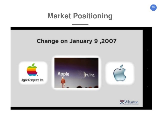 apple segmentation targeting positioning Tegic issues of market segmentation, market targeting and positioning  apple,  for example, based its initial strategy, at least in part, on appealing to those.