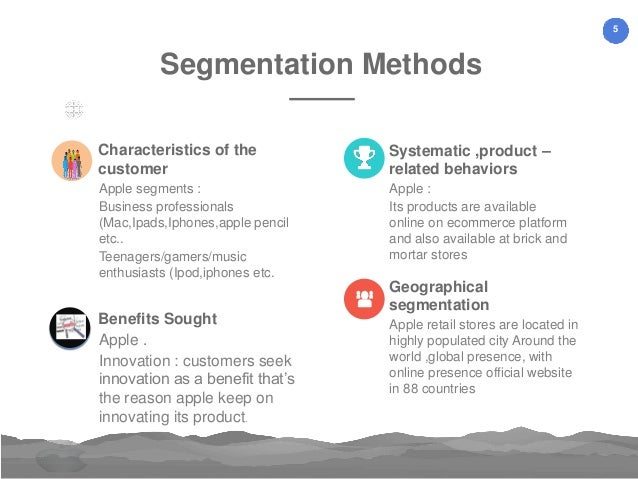 apple ipod marketing segmentation targeting and positioning In marketing, segmenting, targeting and positioning (stp) is a broad framework that summarizes and simplifies the process of market segmentation market segmentation is a process, in which groups of buyers within a market are divided and profiled according to a range of variables, which determine the market characteristics and tendencies.
