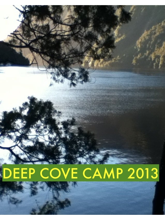 Deep cove camp 2013