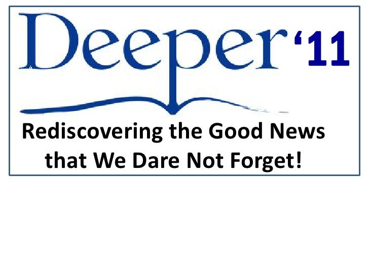 Deeper   one substitute - jan 16, 2011