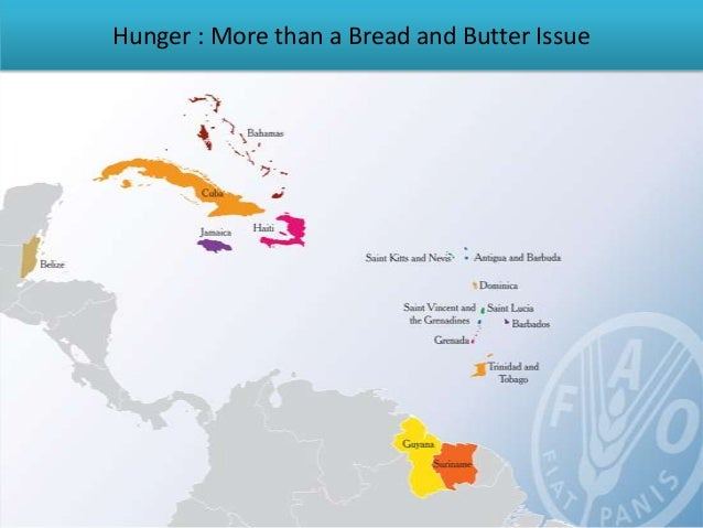 Hunger : More than a Bread and Butter Issue